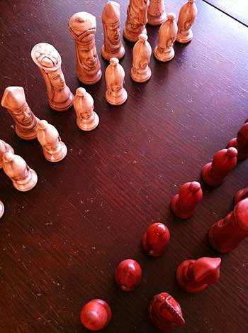 Handmade Chess Pieces | Storypiece