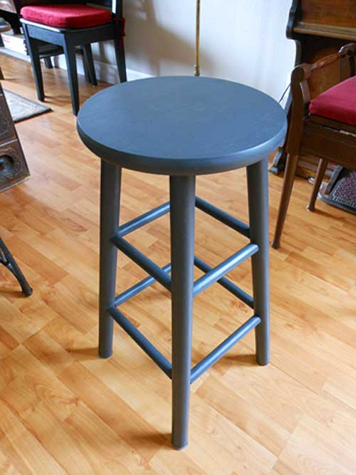 Completed Bar Stool | Storypiece.net