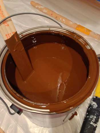 Painting Our Kitchen Chocolate Sparkle By Behr Storypiece