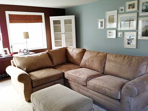 pottery barn pearce sectional reviews 2