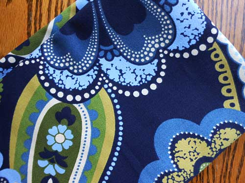 Bold Blue Floral Fabric | Storypiece