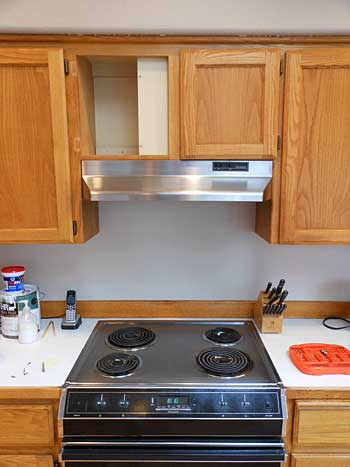 Removing Stove Hood | Storypiece