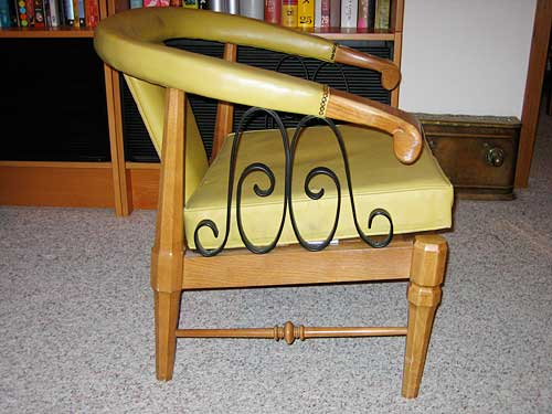 Decorative Iron Chair