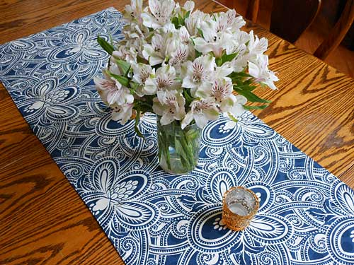 Custom Table Runner for Spring | Storypiece