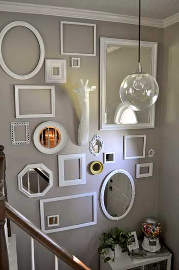 My favorite projects from the spring pinterest challenge - Cuadros para la habitacion ...