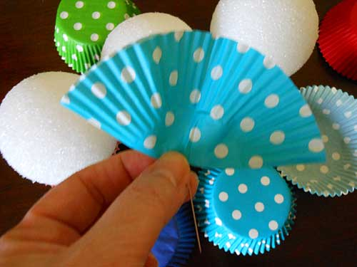 Cupcake Liner Folded in Half | Storypiece
