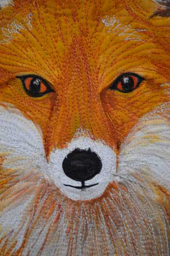 Fox Quilt Detail by Family Style Living