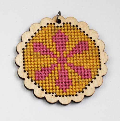 SNAP logo cross-stitch | Expect Moore