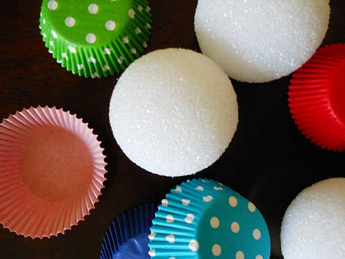 Supplies for Cupcake Liner Decor | Storypiece