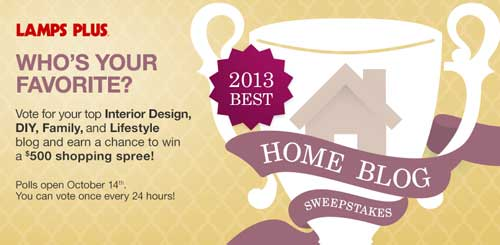 Lamps Plus Home Blog Sweepstakes