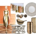 Fashion Influences: Metallic Decor