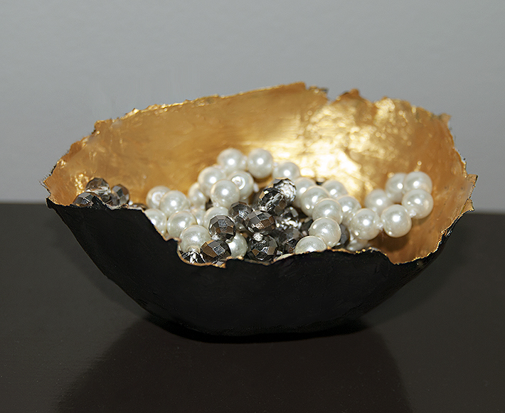 Paper Bowl Gold | Two Zero One