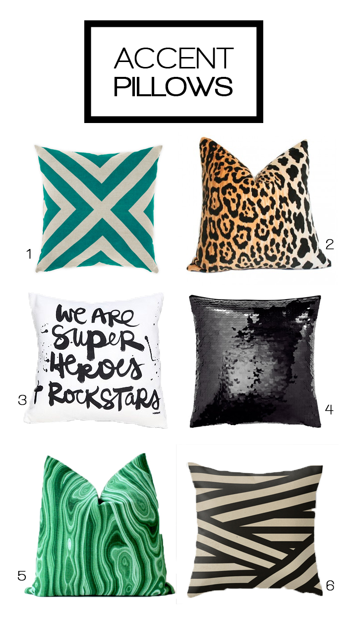 Accent Pillows By Two Zero One
