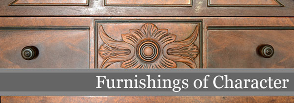 Furnishings of Character | Storypiece.net