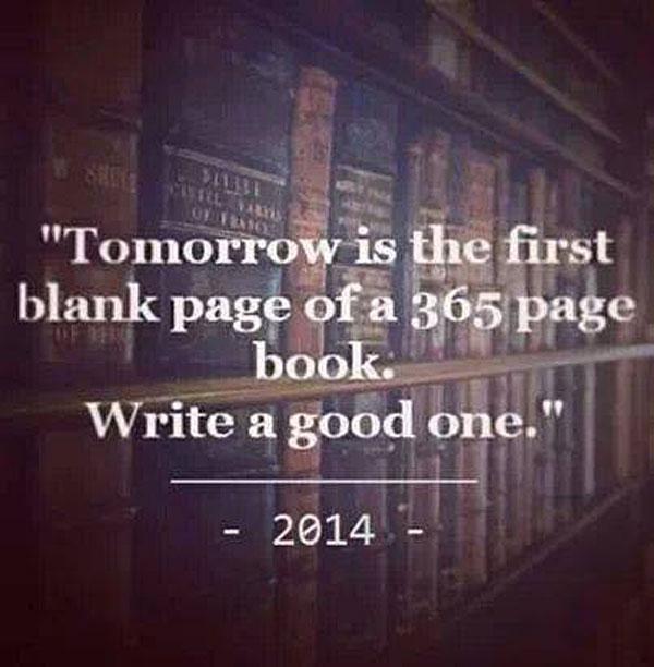2014 New Years Quote