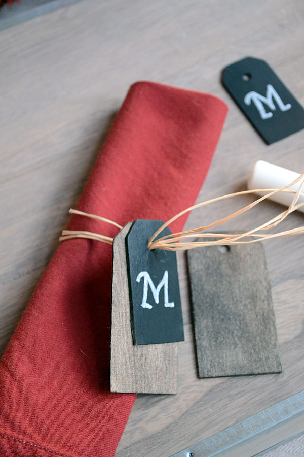 Custom Thanksgiving Napkin Rings | Storypiece.net
