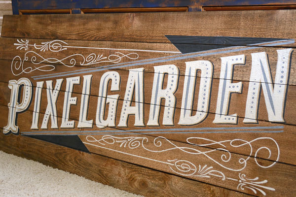 Custom Painted Sign | Storypiece.net