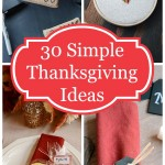 30 Simple Thanksgiving Day Craft & Decor Ideas