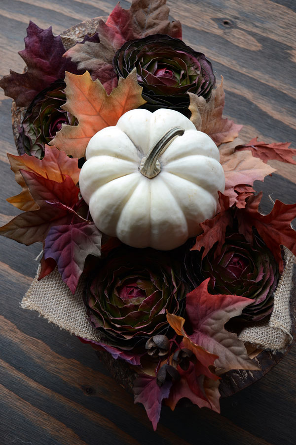 Fall Foliage Centerpiece | Storypiece.net