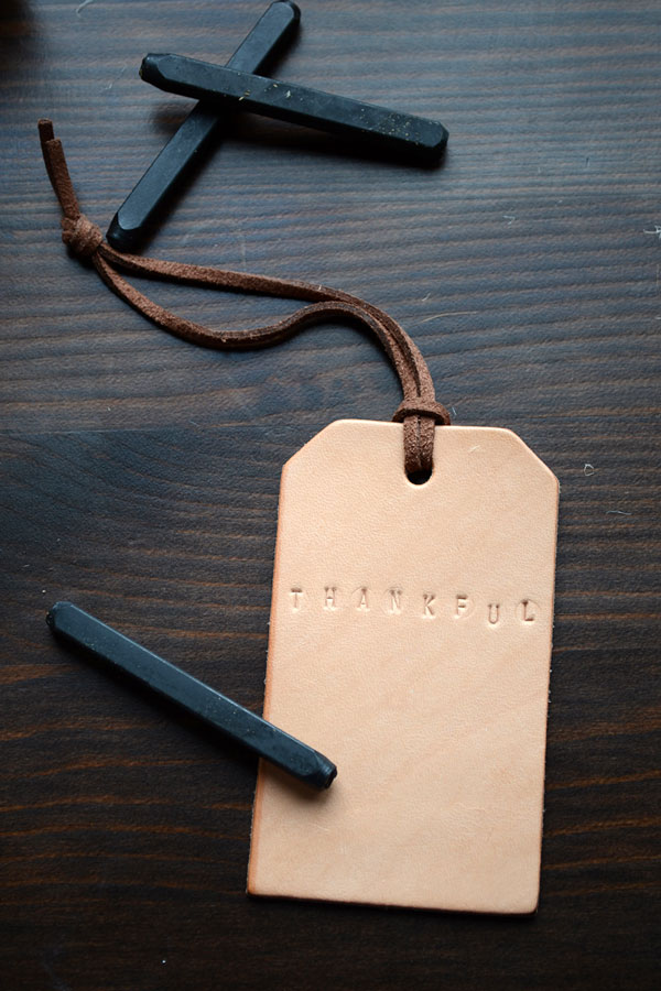 Leather Embossed Wine Tags | Storypiece.net