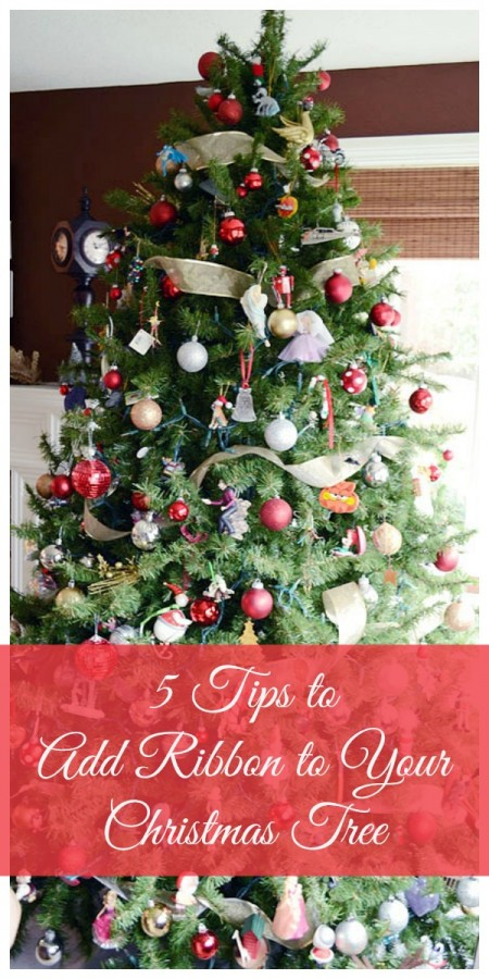 Best 28 How To Add Ribbon To Christmas Tree Christmas