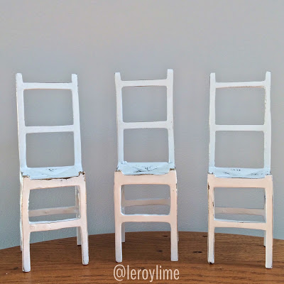 Little Chairs by Leroylime