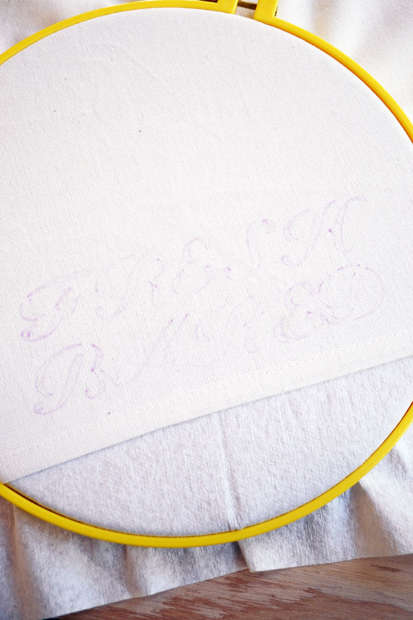 Prep for Liquid Embroidery Projects | Storypiece.net