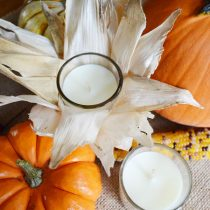 DIY Fall Candle | Storypiece.net