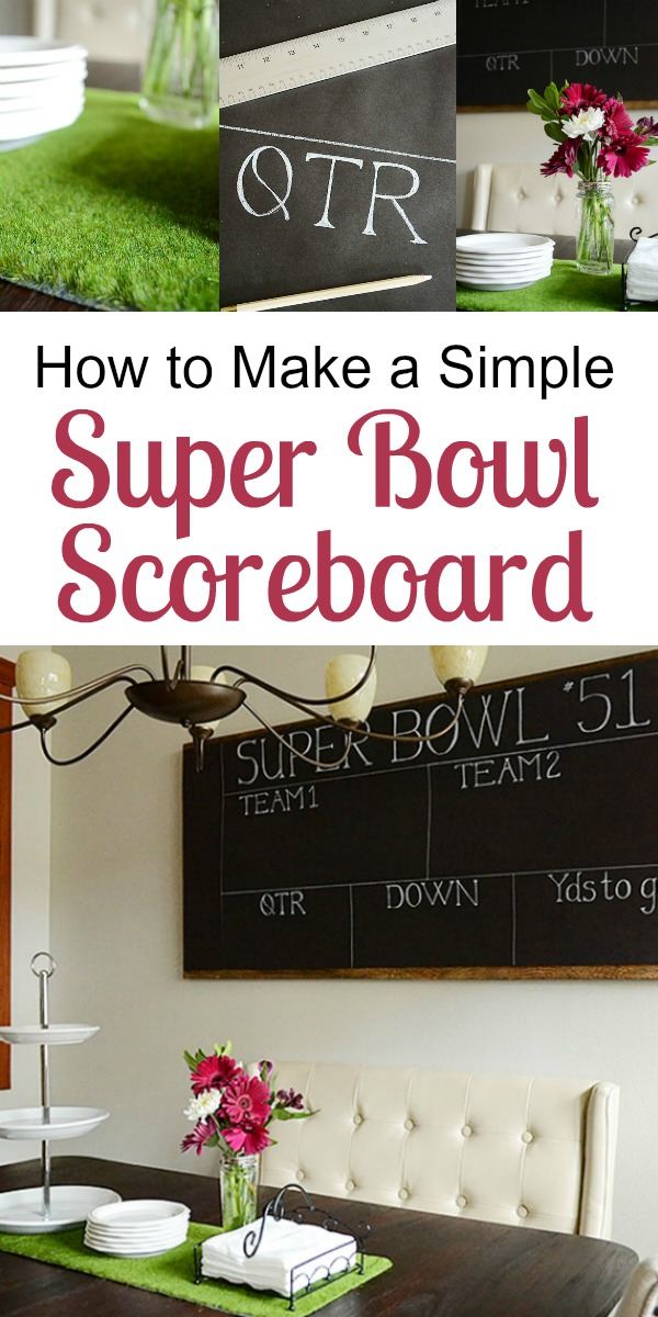How to Make a Simple Game Day Scoreboard | Storypiece.net