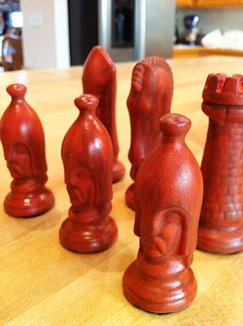 Antique Chess Set | Storypiece