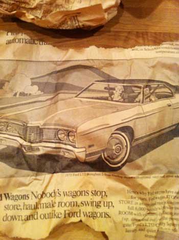 Vintage Car Ad | Storypiece