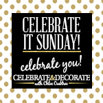 Celebrate it Sunday Button