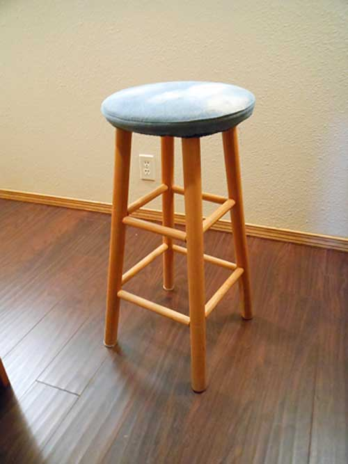Garage Sale Bar Stool | Strypiece.net