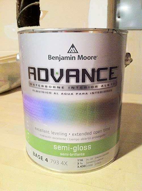 Benjamin Moore Advance Paint | Storypiece.net