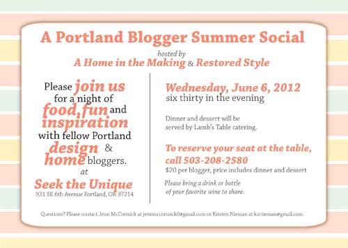 Summer Social Invite | Storypiece.net