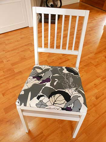 Covered Seat Cushion | Storypiece.net