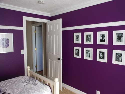 Purple Palace Photo Wall