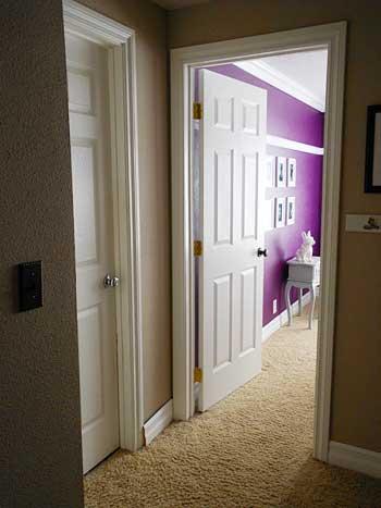Finished Bedroom Doors