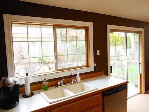 Installed Kitchen Molding