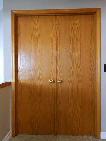 Master Bedroom Doors-Before