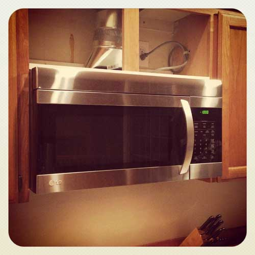 New LG Microwave | Storypiece