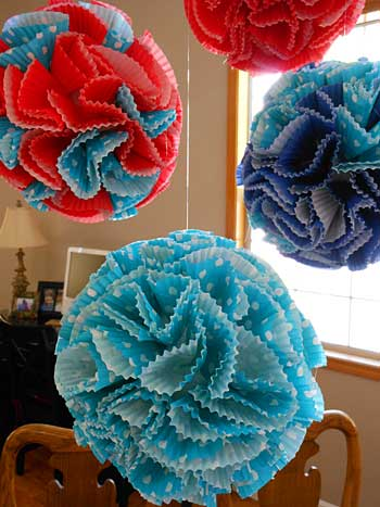 Paper Balls Decoration Interesting Paper Flower Decorations  Storypiece Review