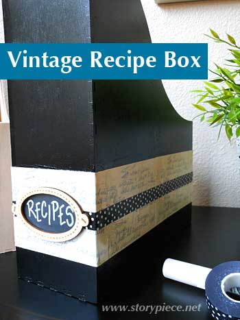 Vintage Recipe Box | Storypiece.net