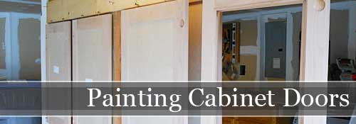 How-To Paint Cabinet Doors | Storypiece.net