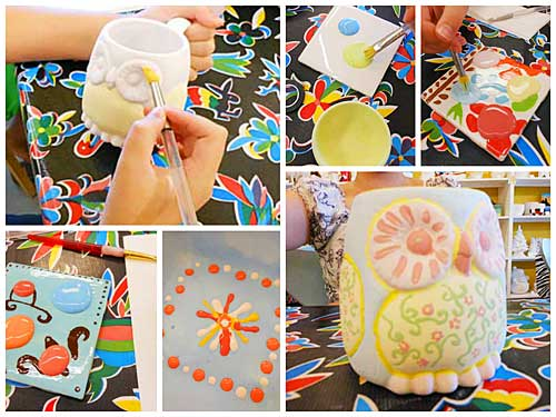 Painted Pottery | Storypiece.net