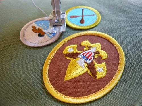 Machine Sew Patches | Storypiece.net