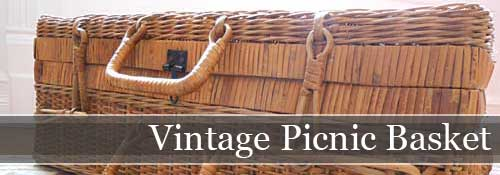 Vintage Picnic Basket | Storypiece.net