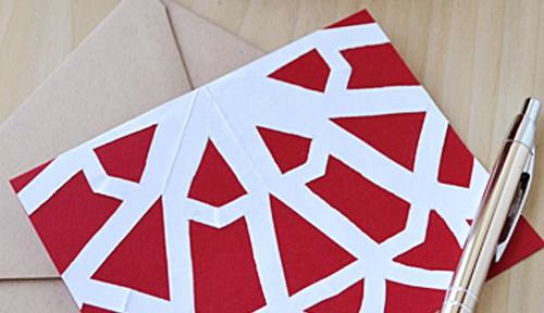 Paper Snowflake Valentine Cards   Storypiece.net