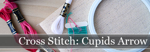 Cross Stitch Cupids Arrow | Storypiece.net