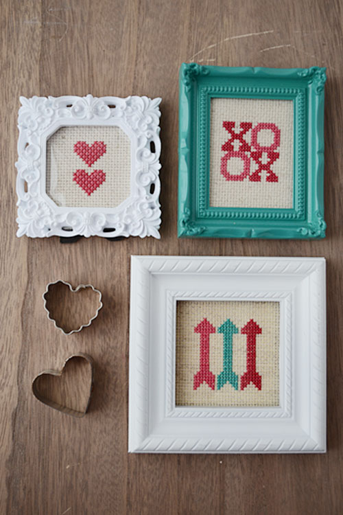 Cross Stitch Valentine Set | Storypiece.net